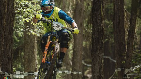 Eddie Masters on Day 1 at the Les Orres EWS, France