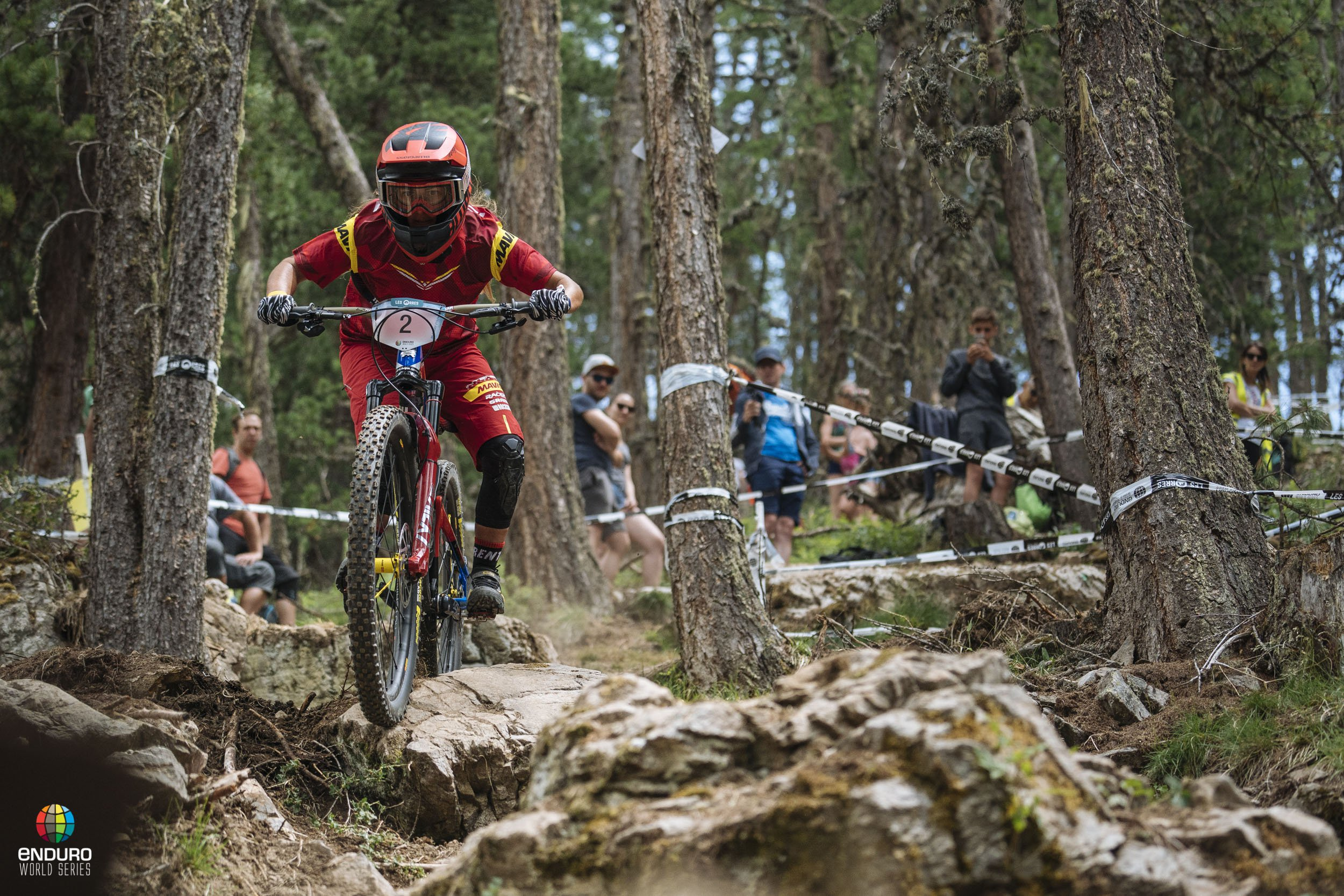 Isabeau Courdurier unstoppable in Les Orres