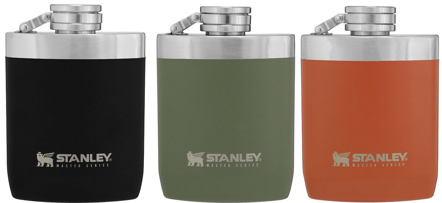 Stanley Master Series Unbreakable Hip Flask All three colours.jpg