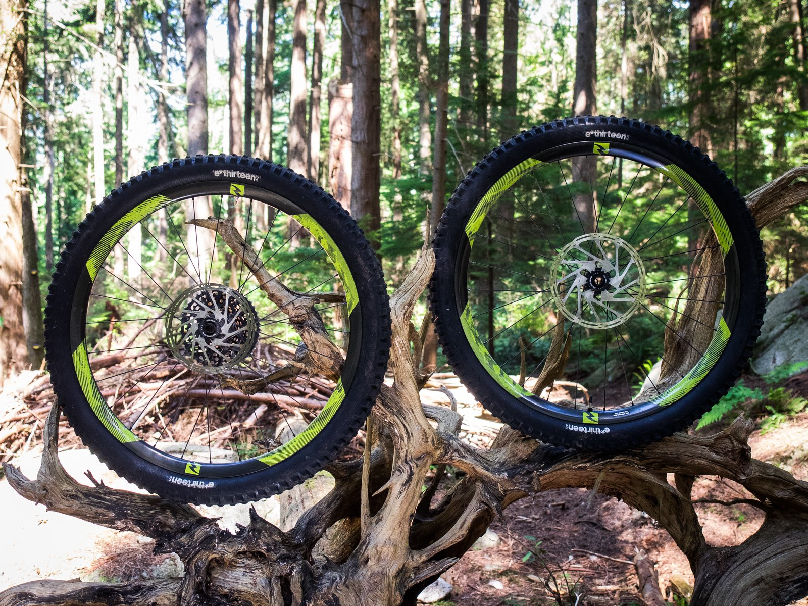 e*thirteen TRSr Tires on Reynolds Enduro Rims