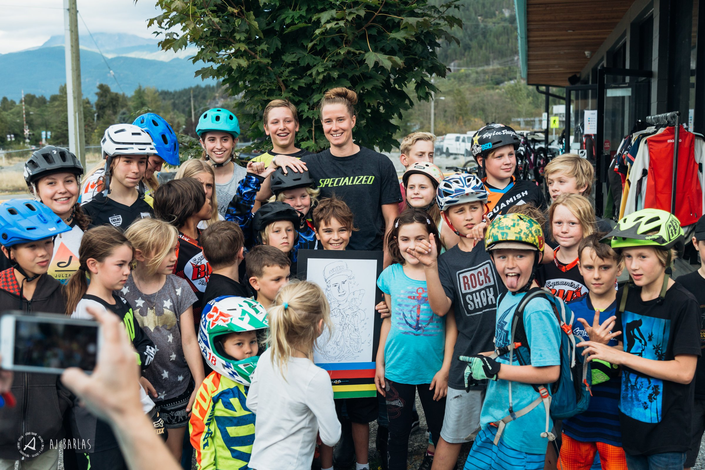 Miranda and the young rippers of Squamish