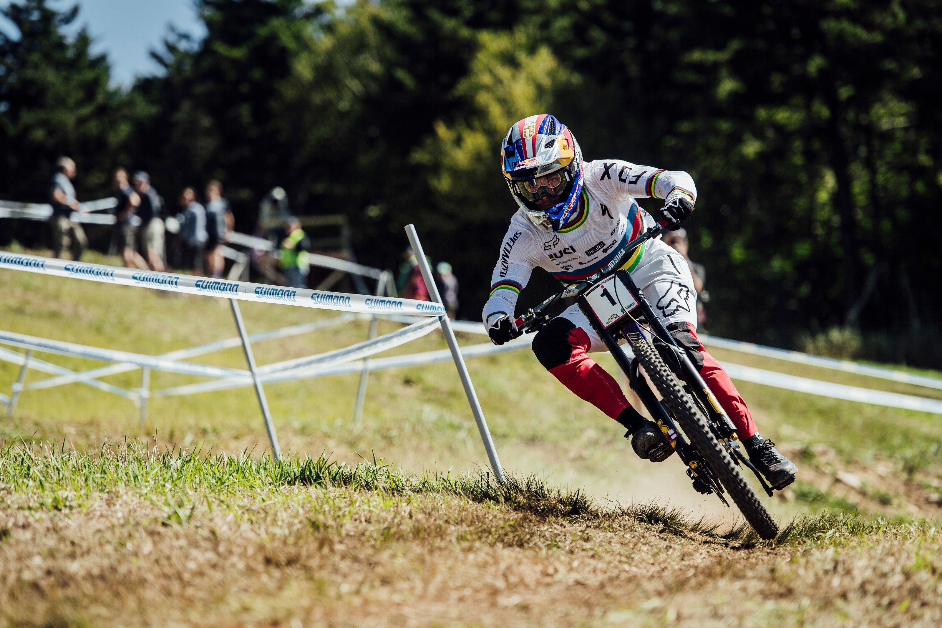 Ending the Season on a High Note – Snowshoe World Cup DH 2019