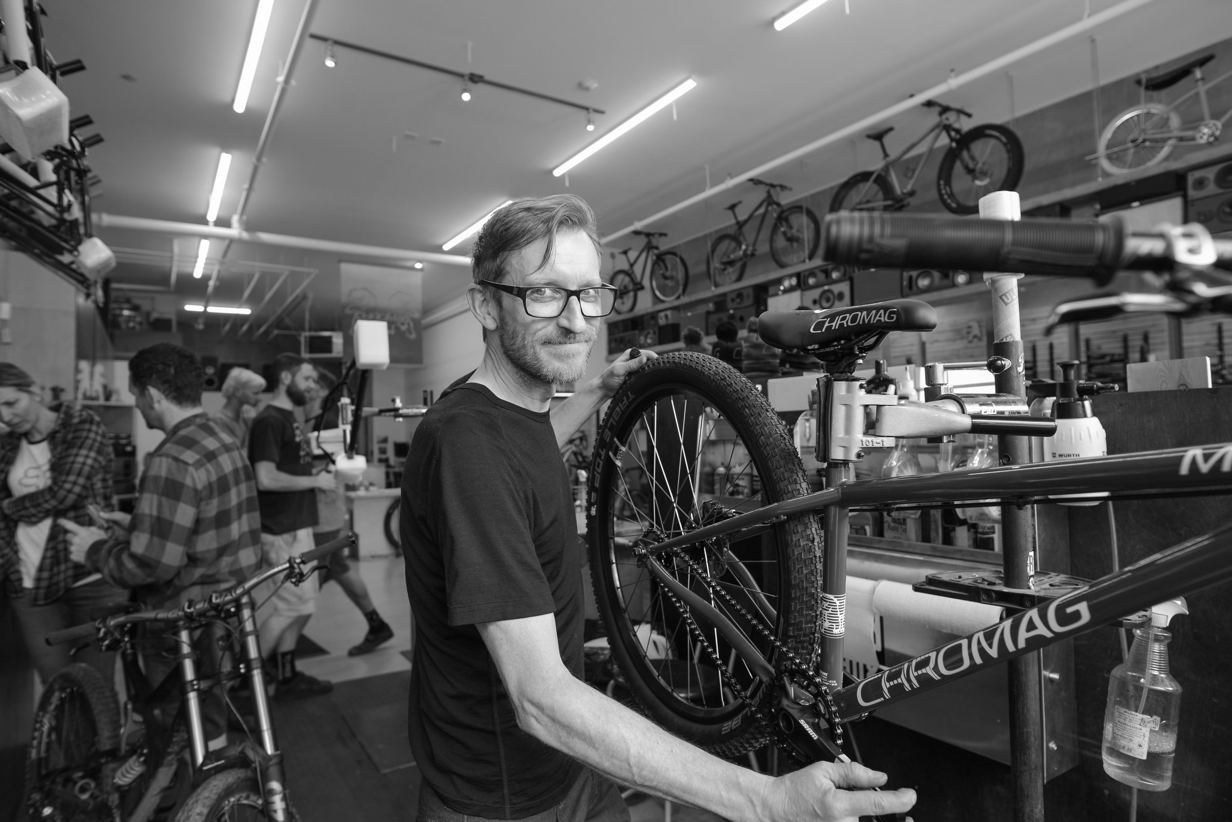 Chromag Staff - D'Arcy Burke is the mechanic