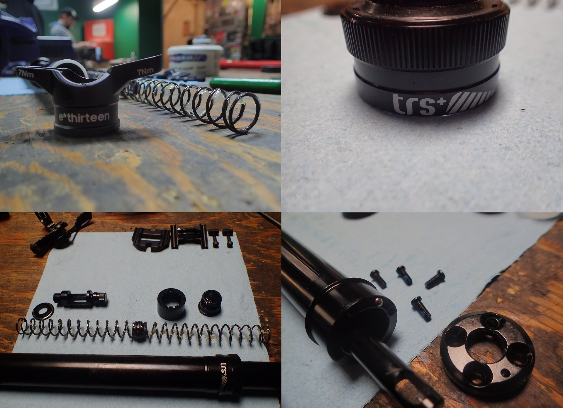 E13 TRS+ Dropper Post Teardown Bikeroom