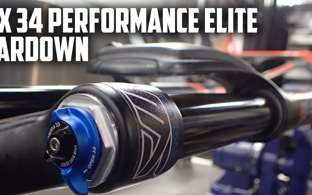 Fox Performance Elite Teardown