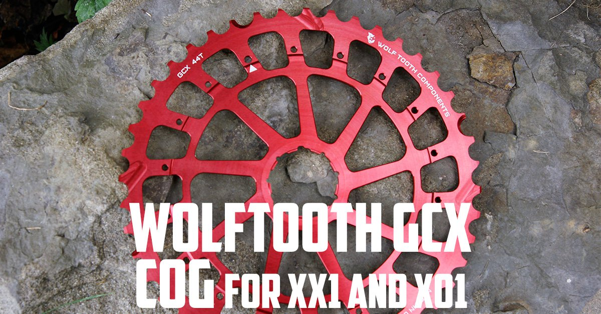 Wolf Tooth Components GCX XX1 Replacement Cog 44T Red