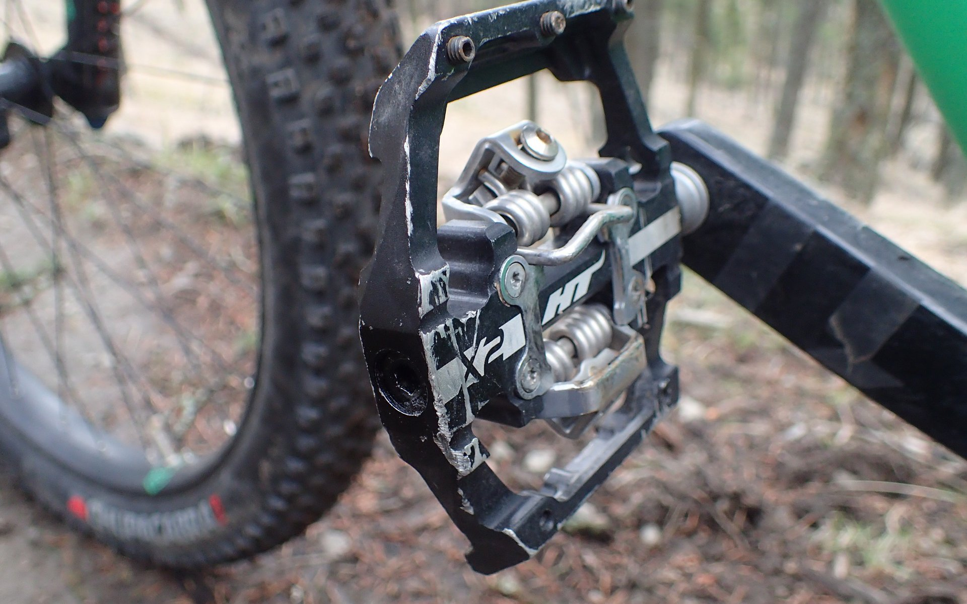 Oil Slick HT Mountain Bike Cycling Pedals X2