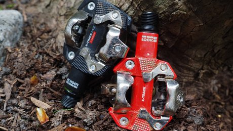 LOOK X-Track Pedals Carbon VS Aluminum