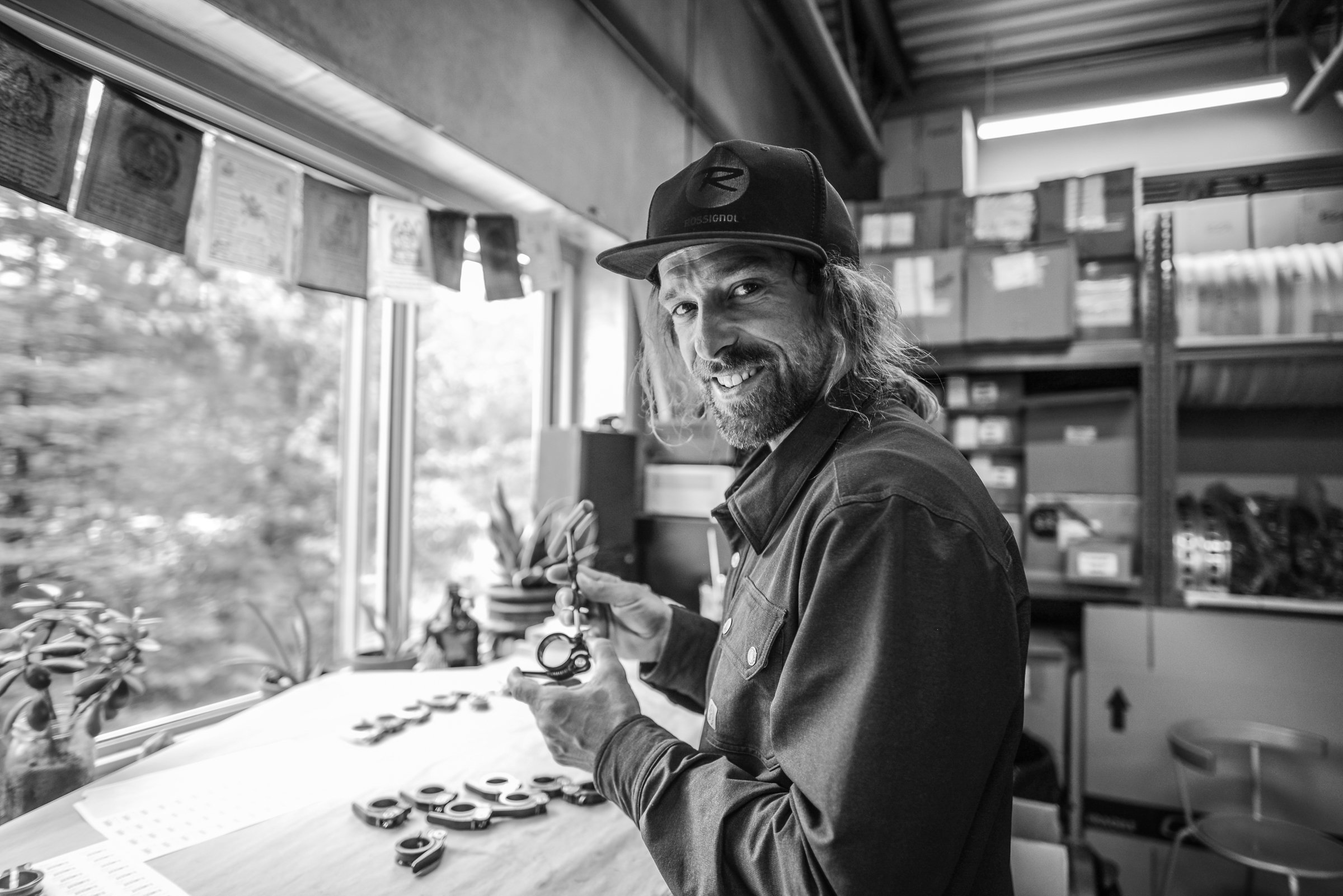 Chromag Staff – Matty Richard works the warehouse and assembly line