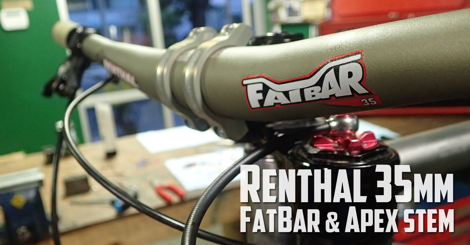 Renthal 35mm Fatbar Apex Stem Review
