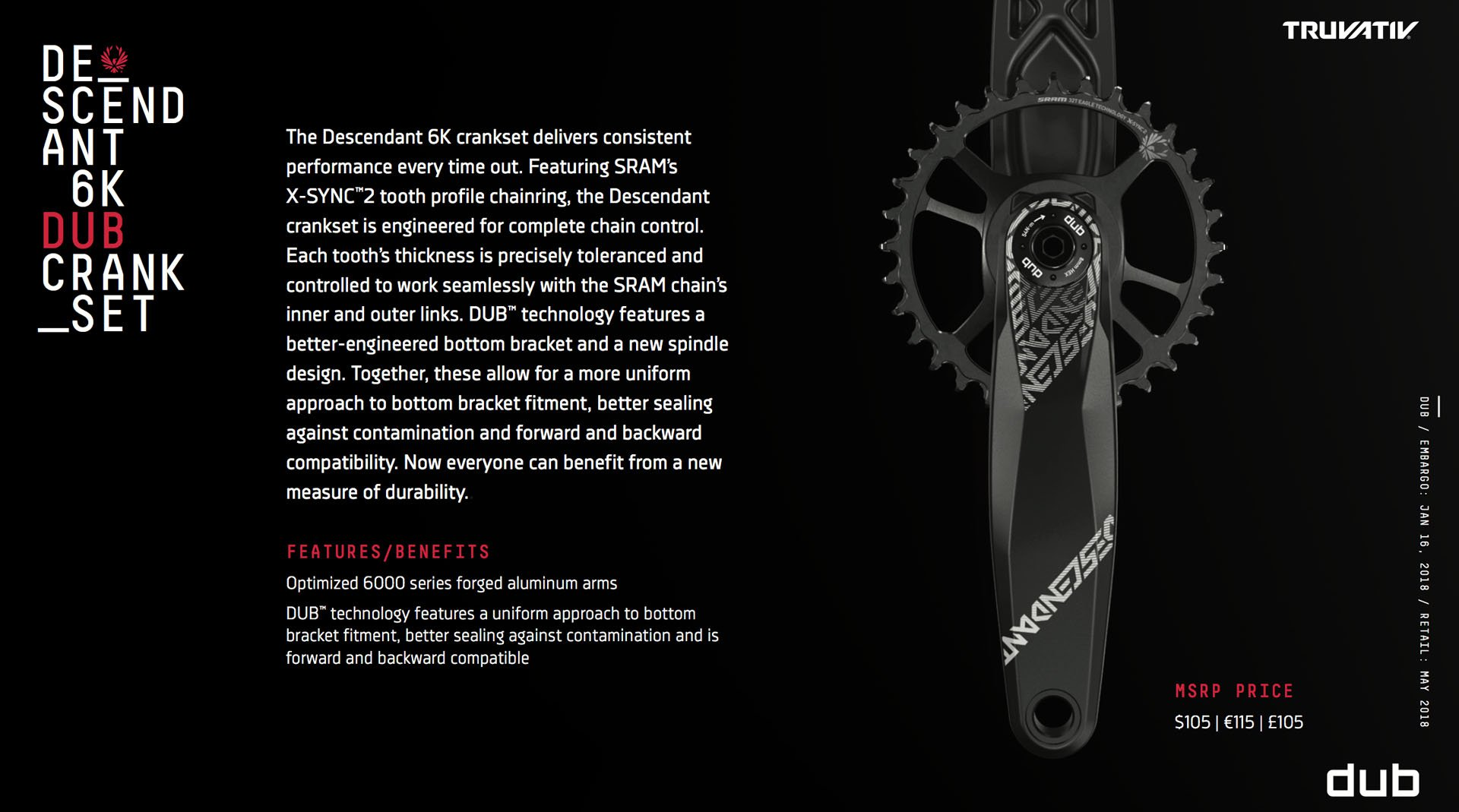 SRAM's goals were simplicity, durability and compatibility but no