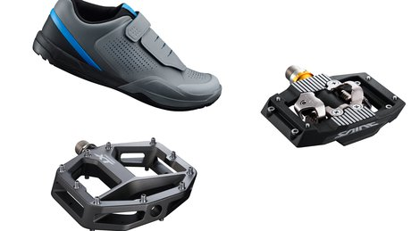 Shimano Shoe and Pedal Header