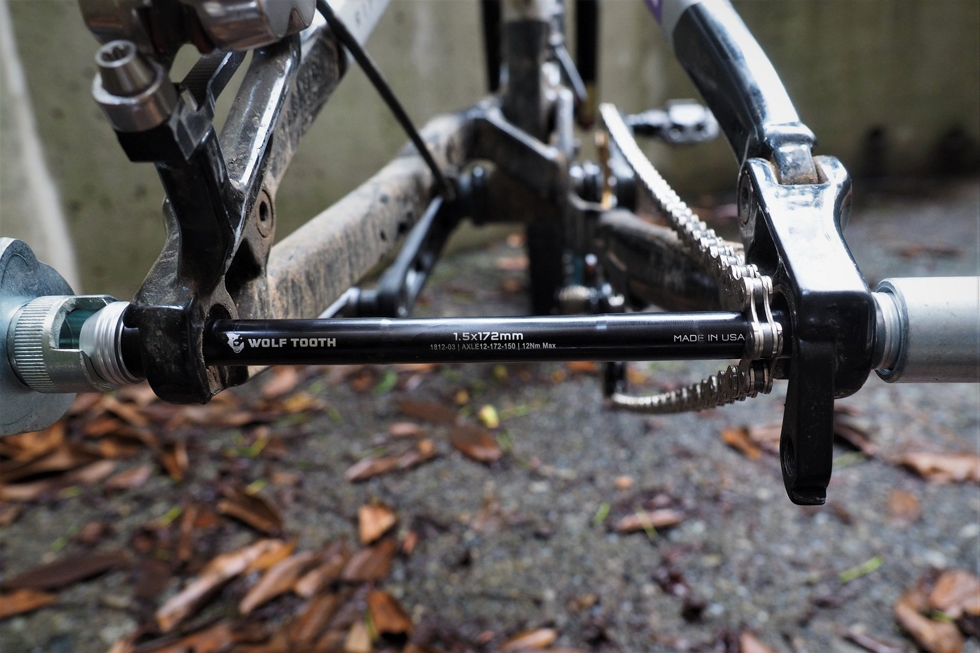 Wolf Tooth Components Rear Axle AndrewM