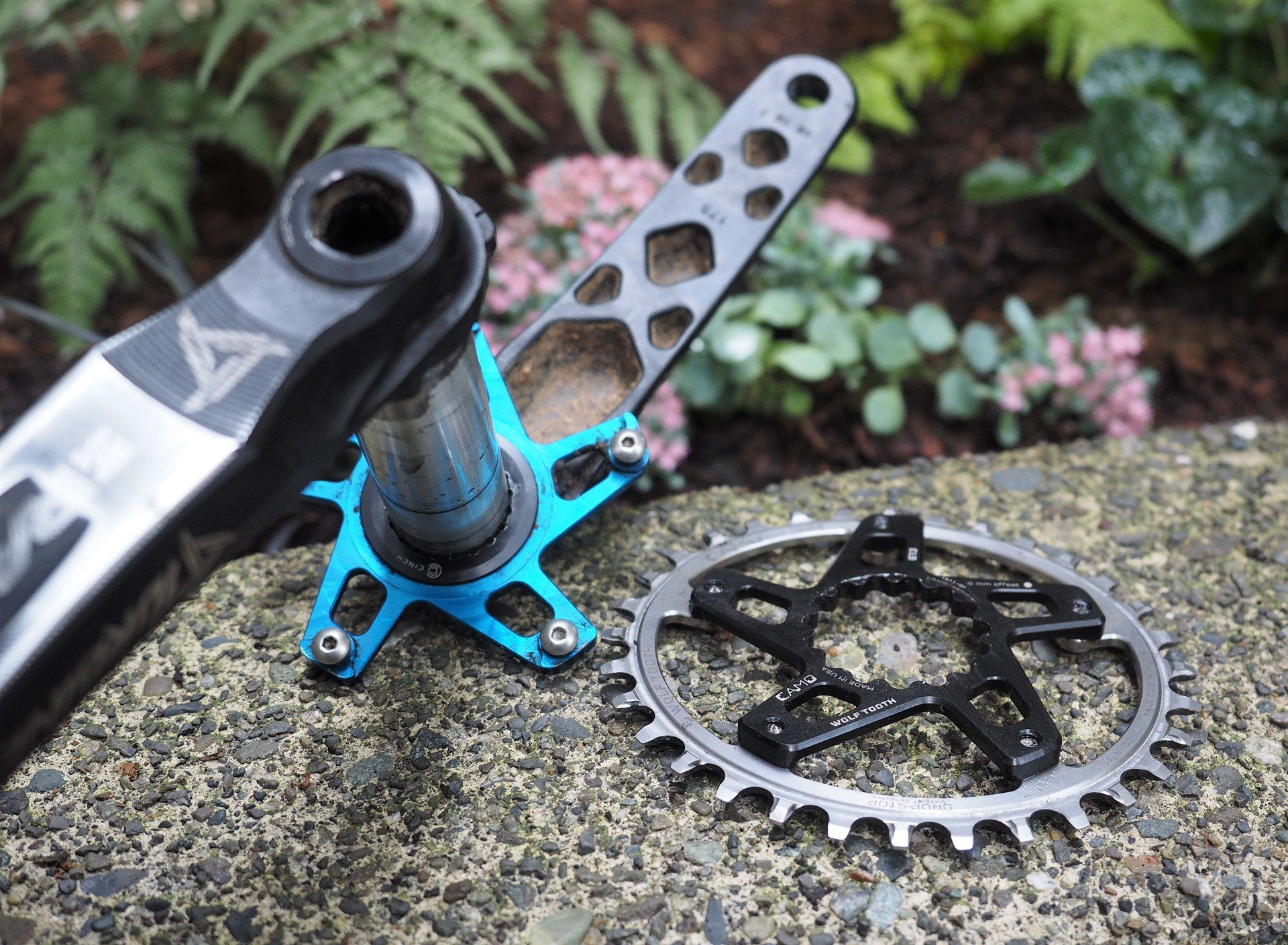 Wolf Tooth Camo Chainring AndrewM