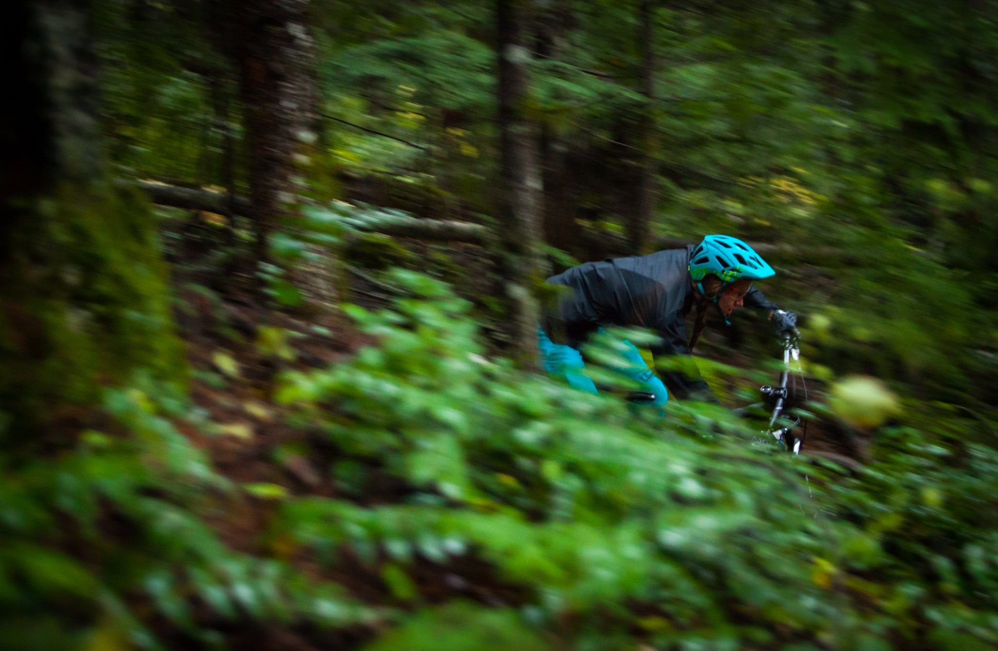 Miranda Miller riding for the lens in Landshapes / Squamish