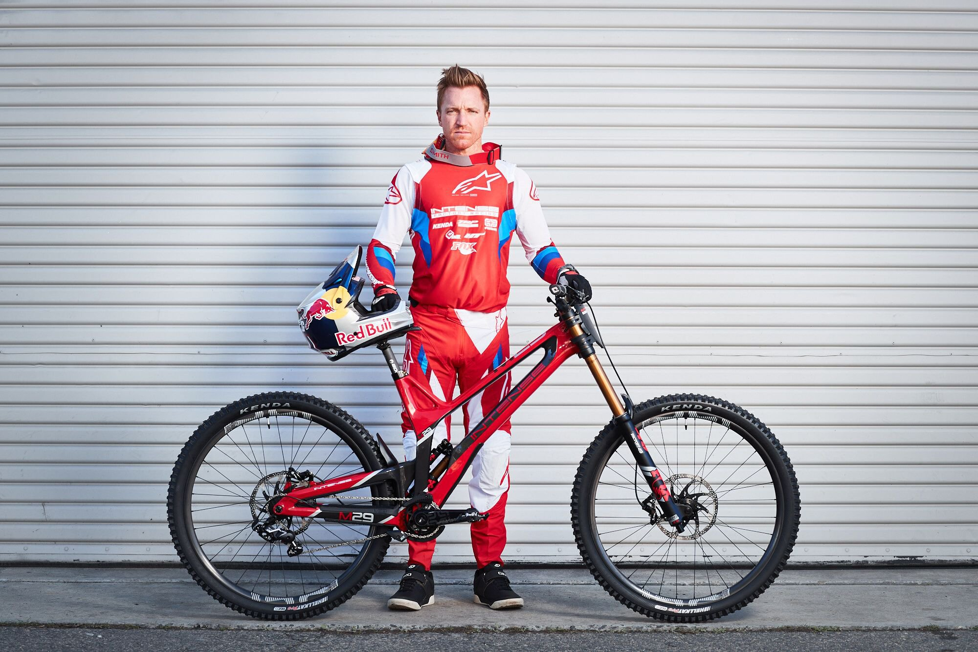 Aaron Gwin and his Intense Factory Racing M29