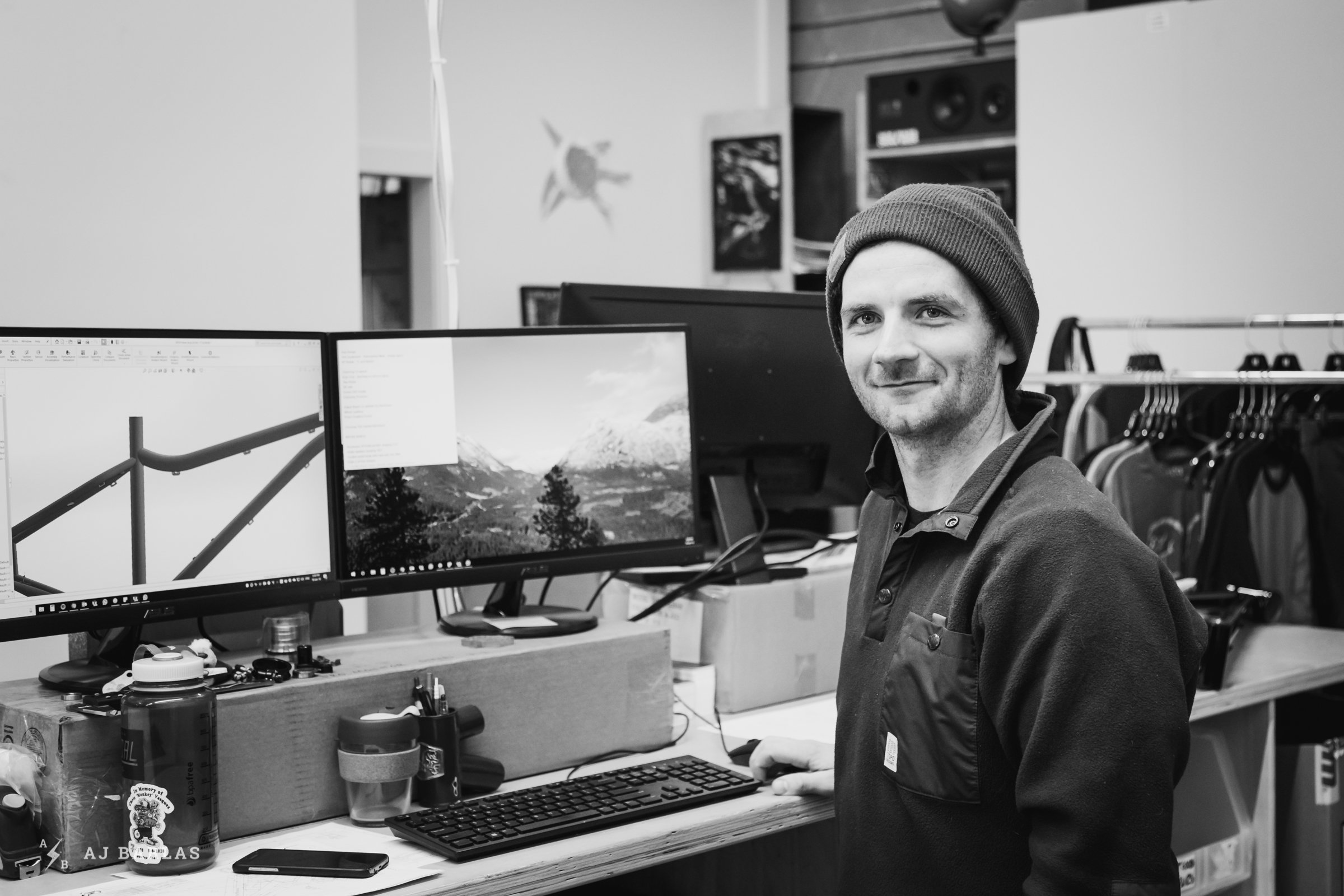 Chromag Staff - Ben Arnot is their new engineer and a mechanic for the YT Mob