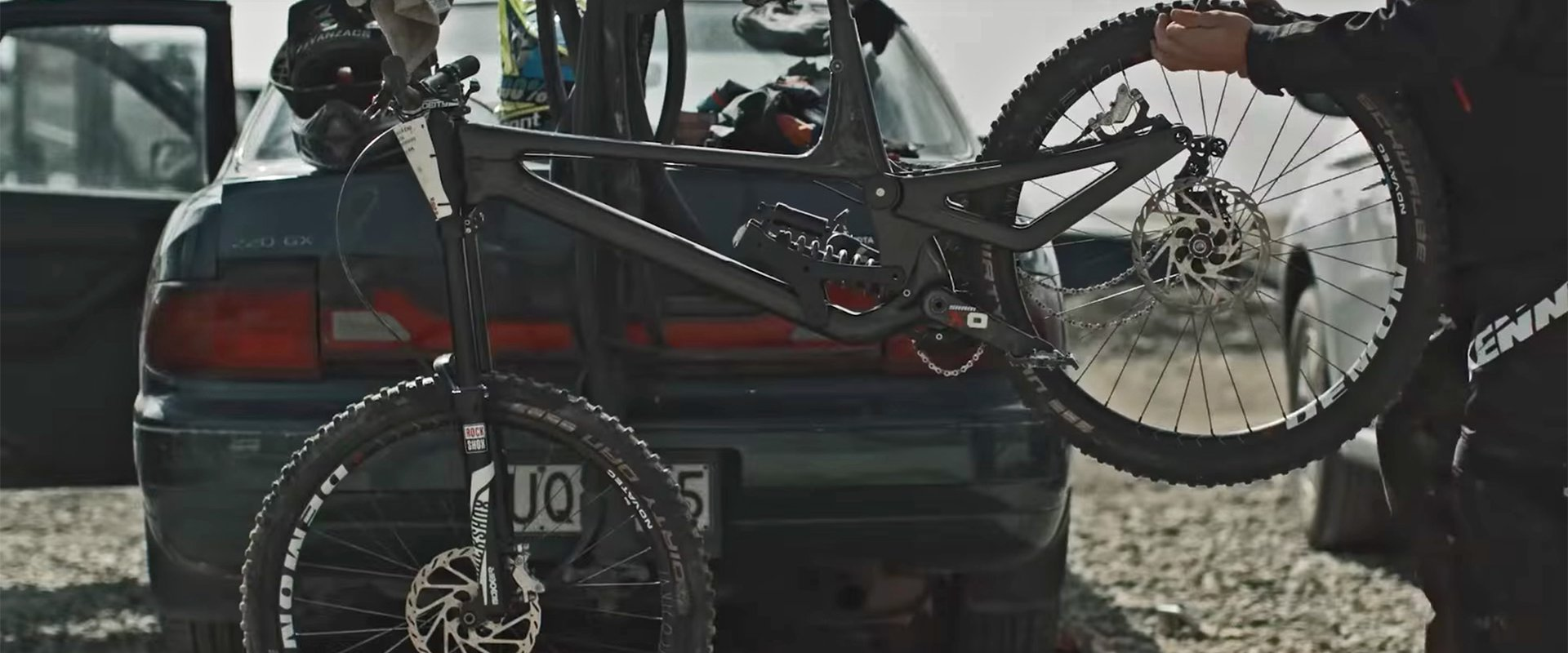 Blenkinsop's New Norco DH Bike