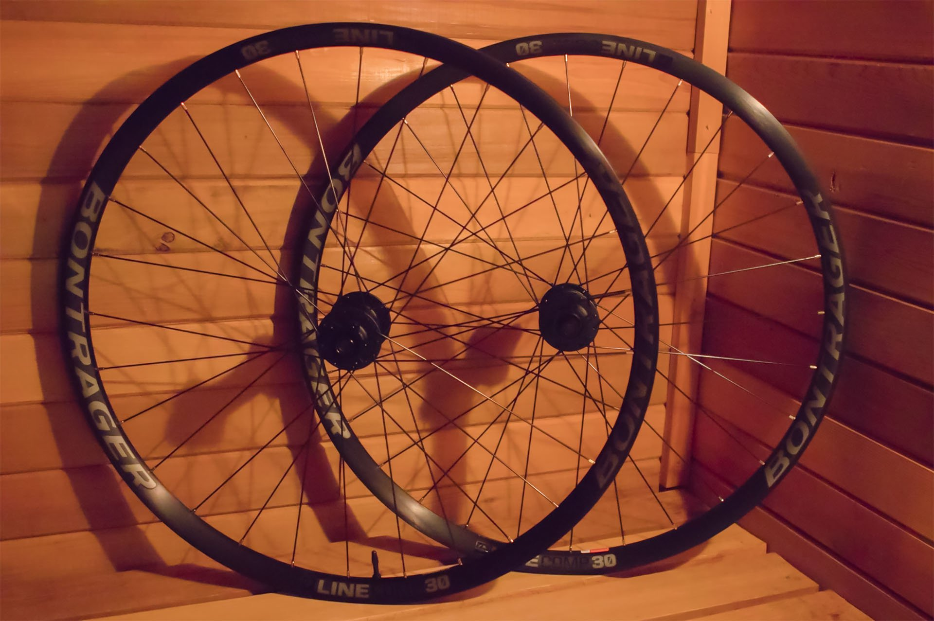 Bontrager wheel set