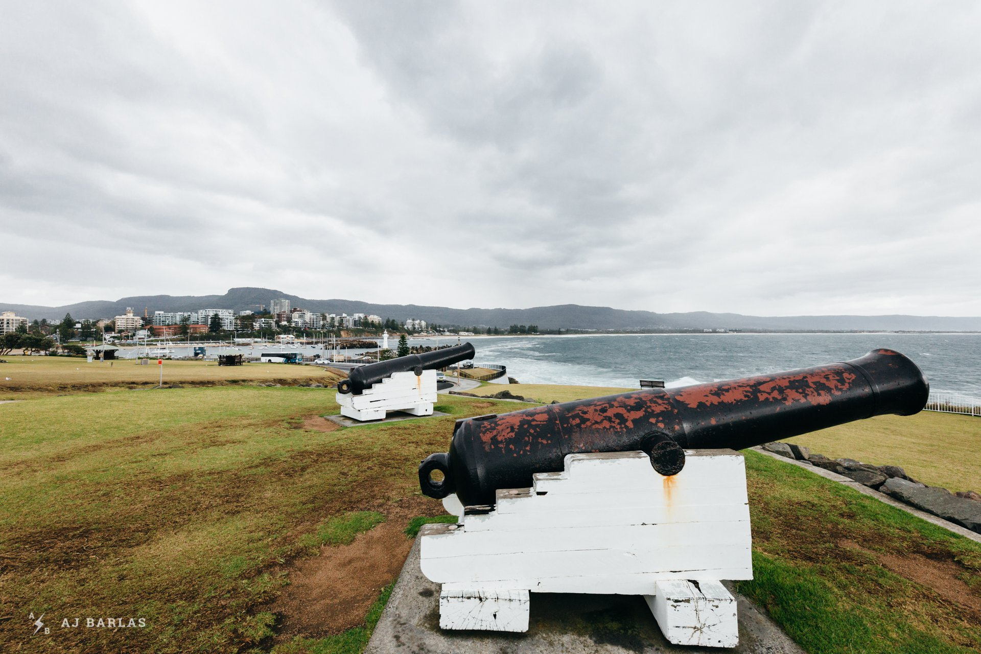 Canons at Wollongong Lighthouse
