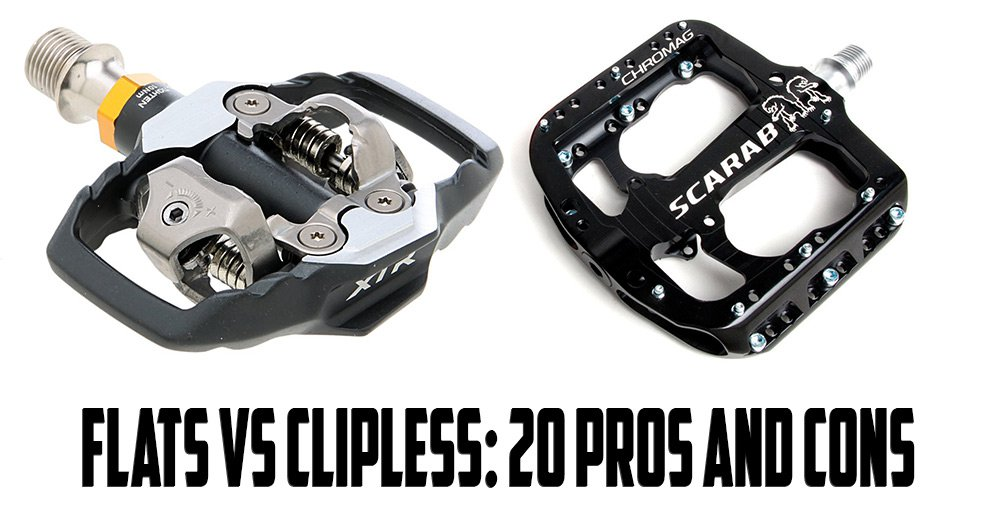 Flats VS. Clipless: 20 Pros and Cons