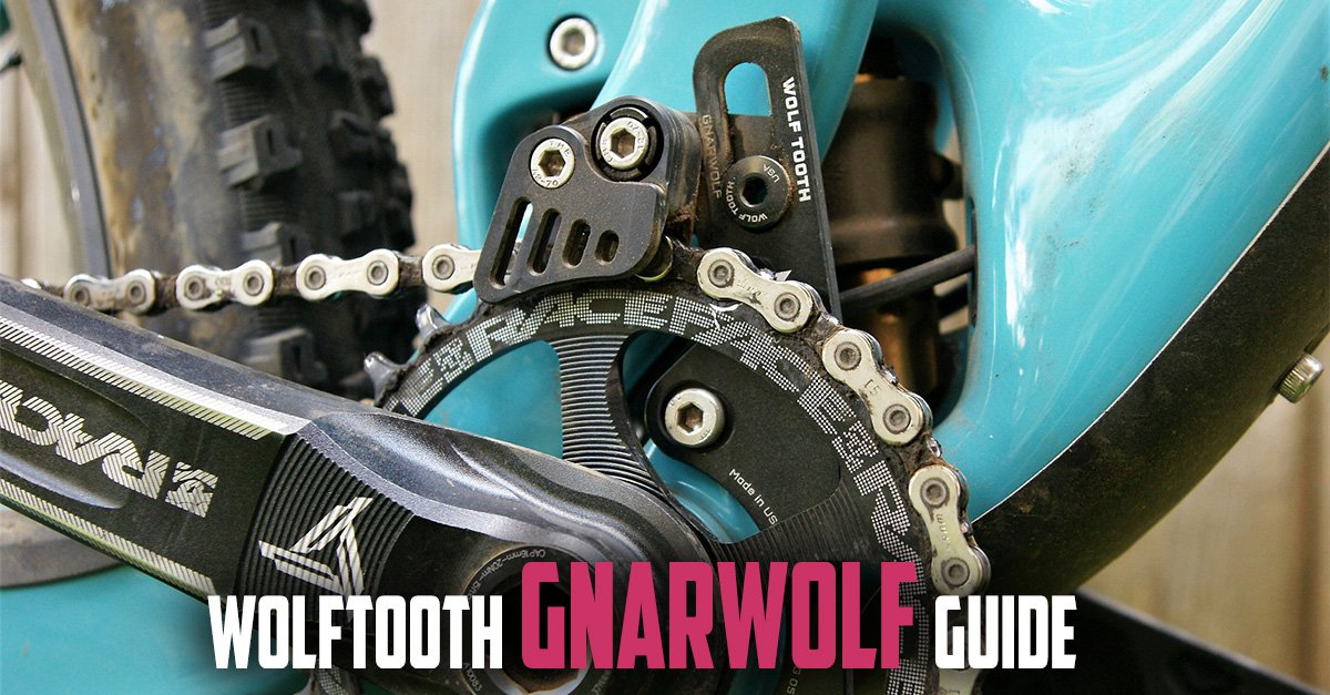 Wolf Tooth Gnarwolf Chainguide Braze-On Mount