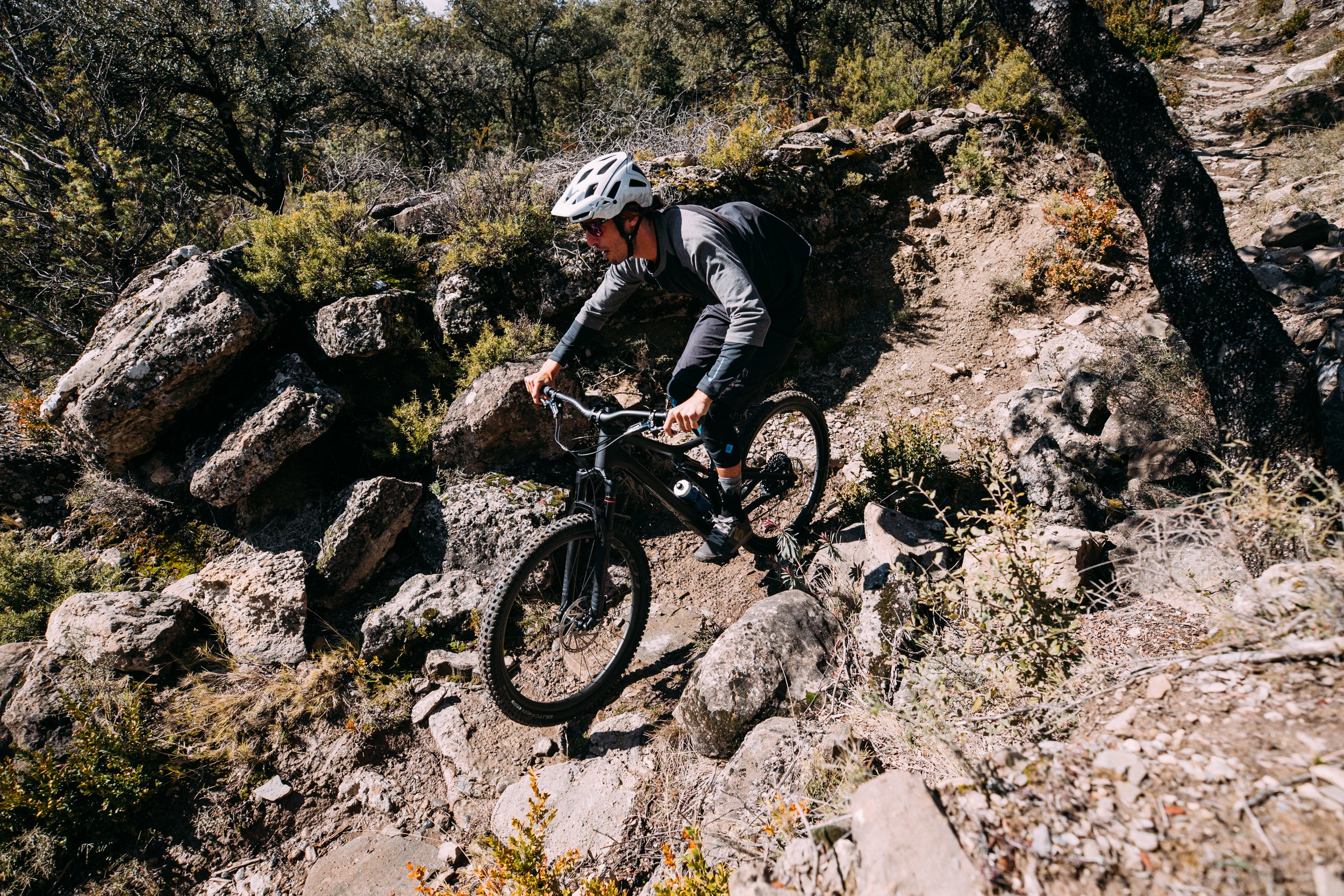 AJ Barlas on the new 2018 Specialized Stumpjumper ST 29 in Spain