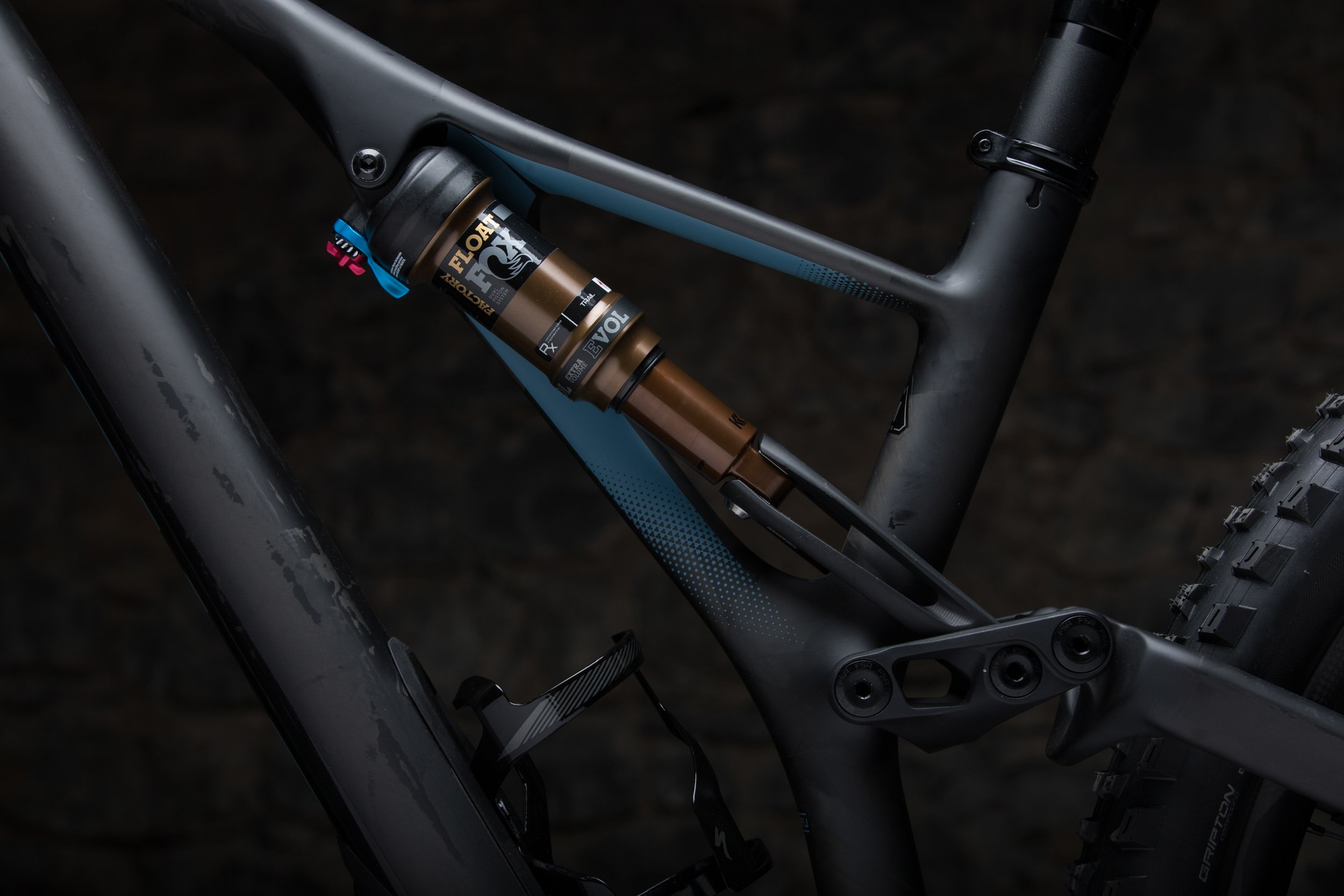 Specialized Stumpjumper sidearm detail