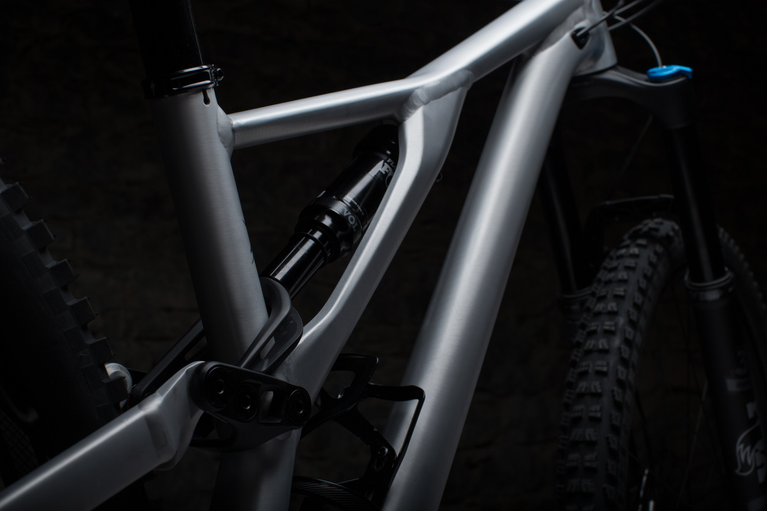 Specialized Stumpjumper sidearm detail, driveside