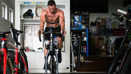 Jared Graves Training at Home