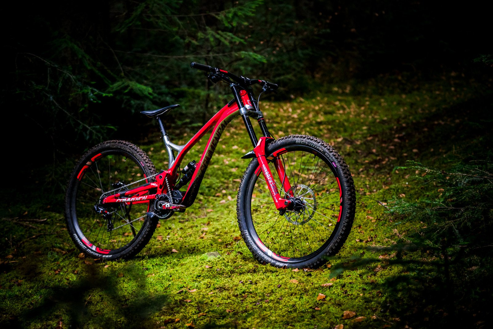 2019 Commencal Vallnord Team Supreme DH V4.3