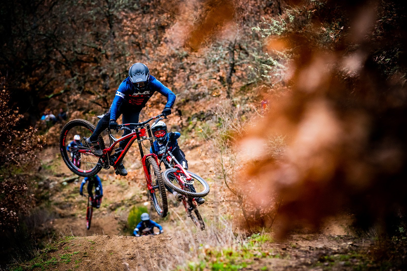 Commencal Vallnord Team ripping in the off-season