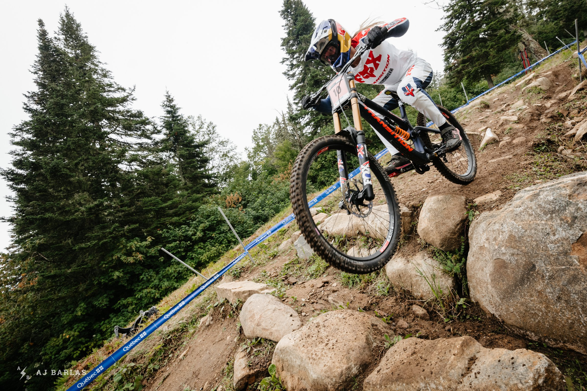 Tahnee Seagrave back racing at the Mont Saint-Anne World Champs