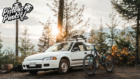 Matt Henn's 1992 Honda Civic and 2015 Giant Reign