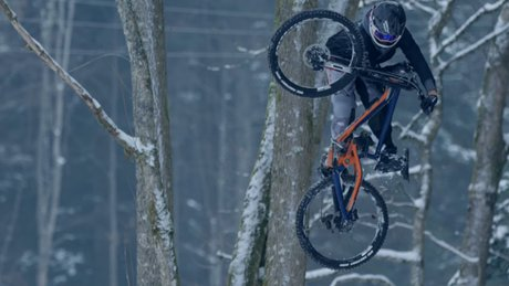 Snow Blasting with Vinny T