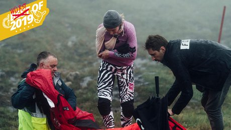 Tahnee Seagrave injured in Fort William