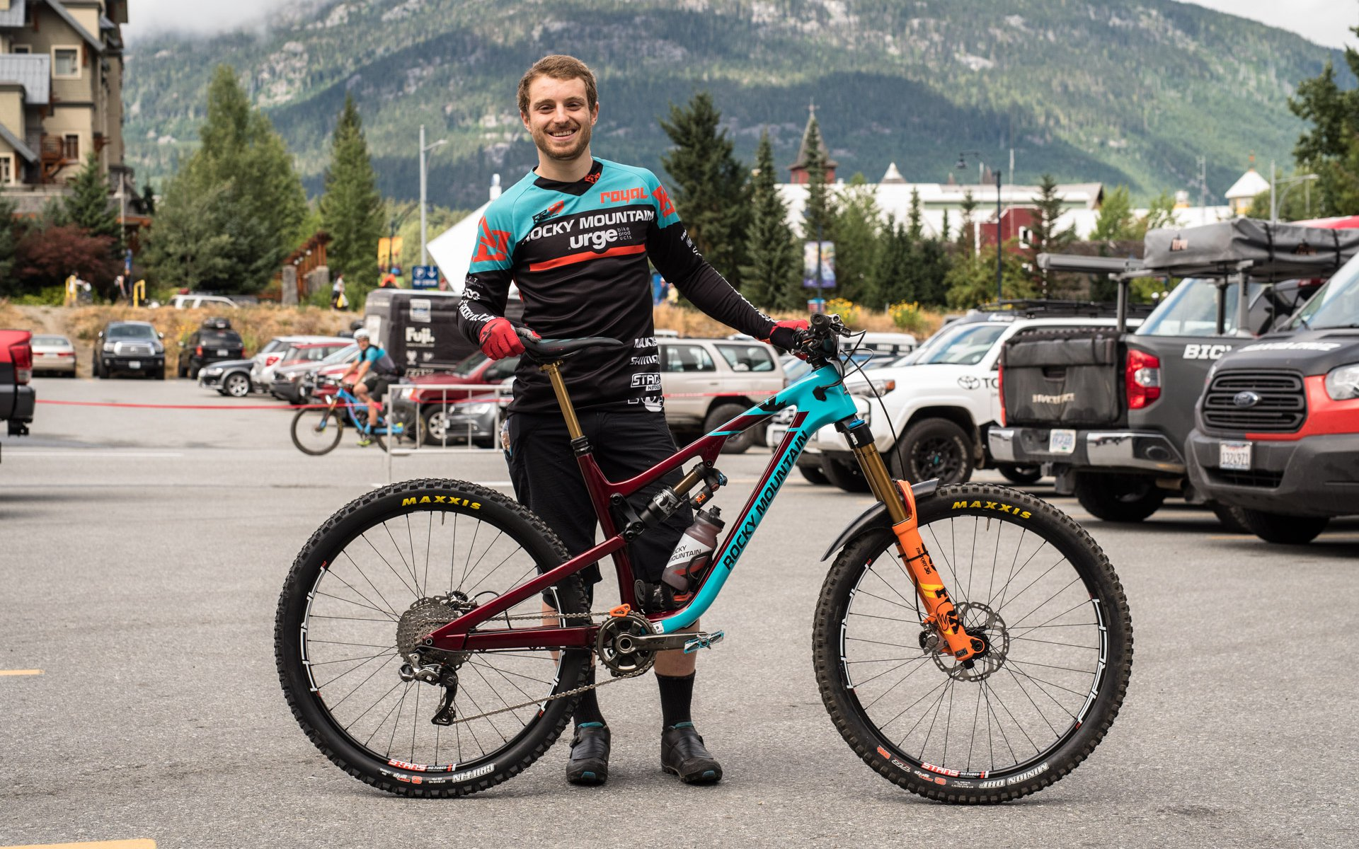 Jesse Melamed's Winning EWS Bike