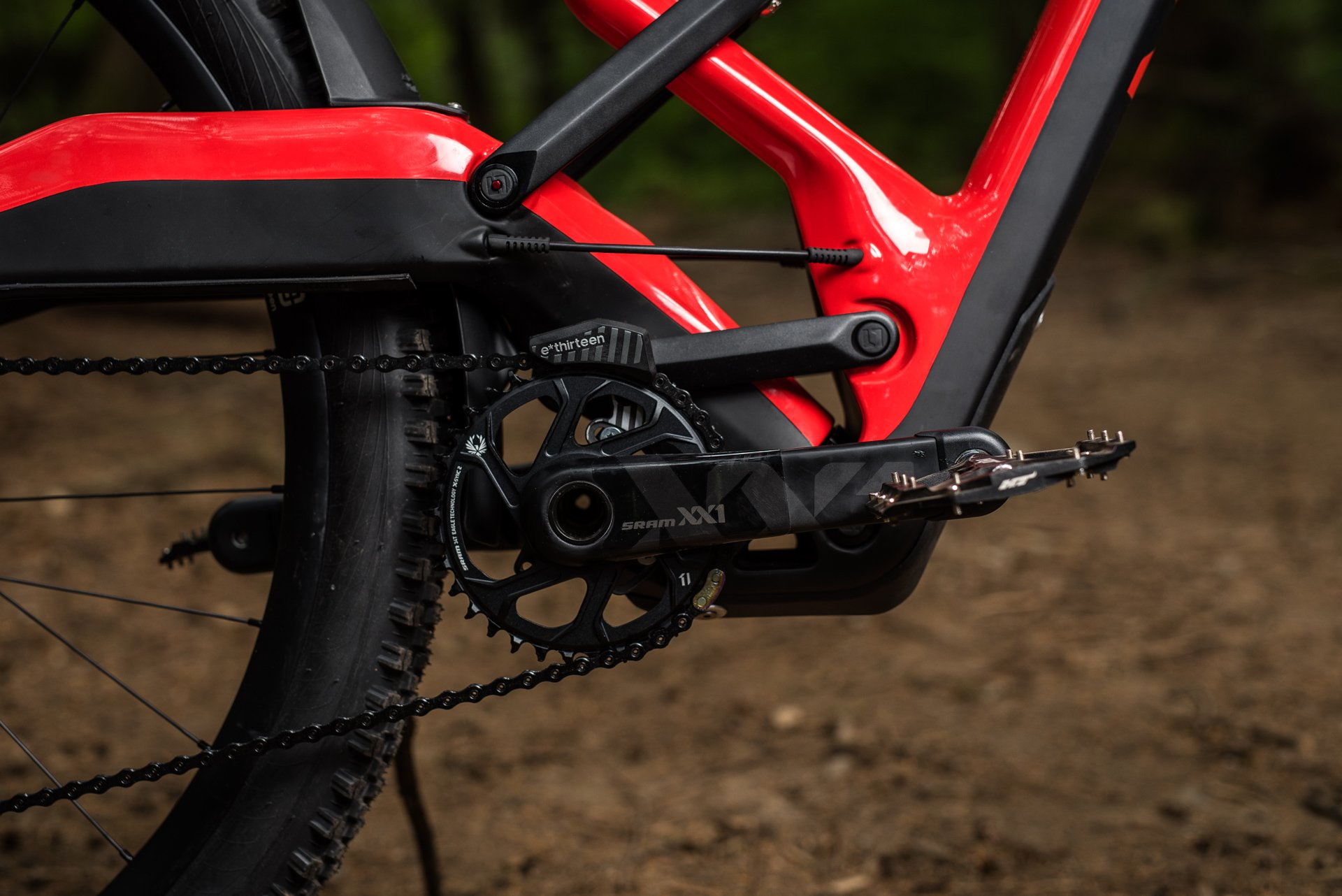 Marin and Polygon's Naild R3ACT Suspension System