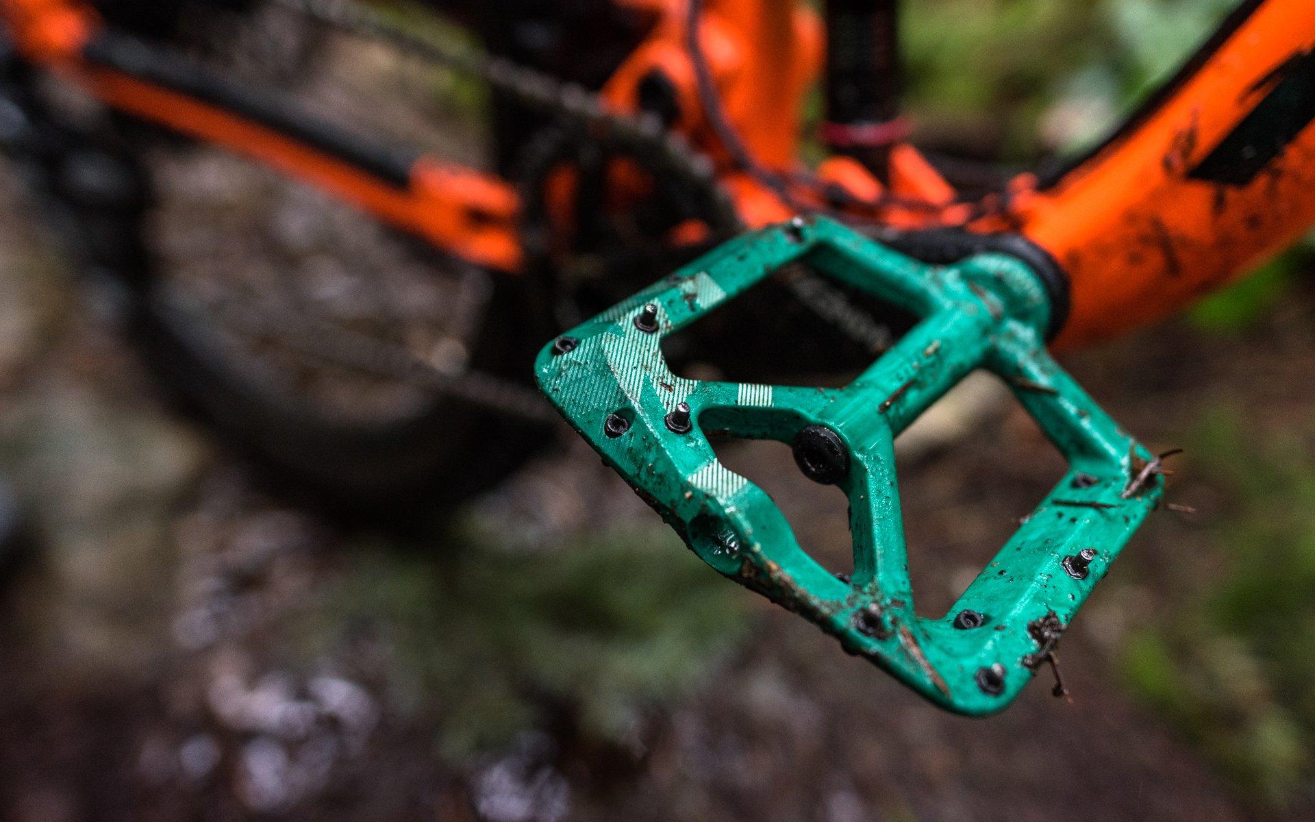Kona Wah Wah 2 MTB Platform Composite Pedals Orange