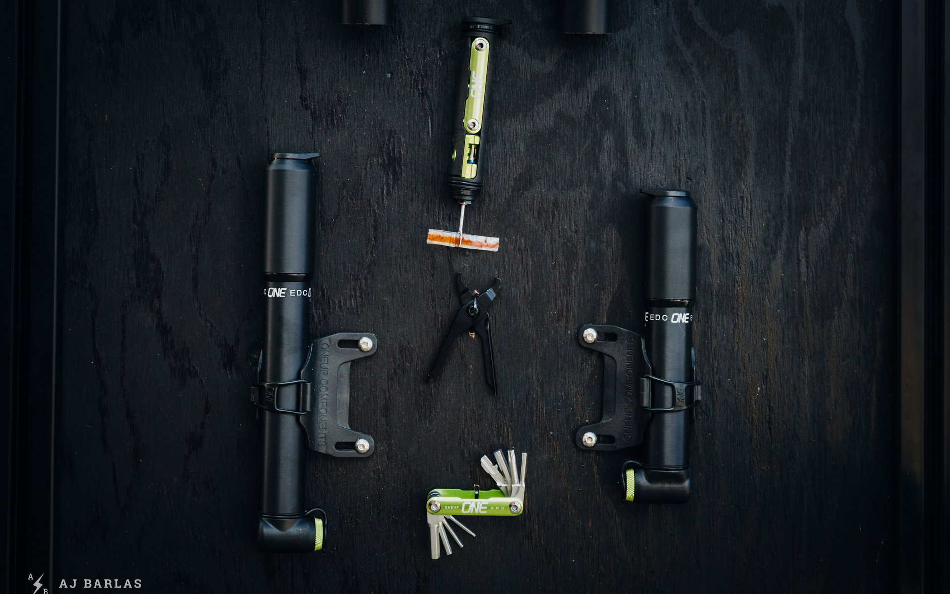 OneUp EDC Collection with new Tubeless Plug