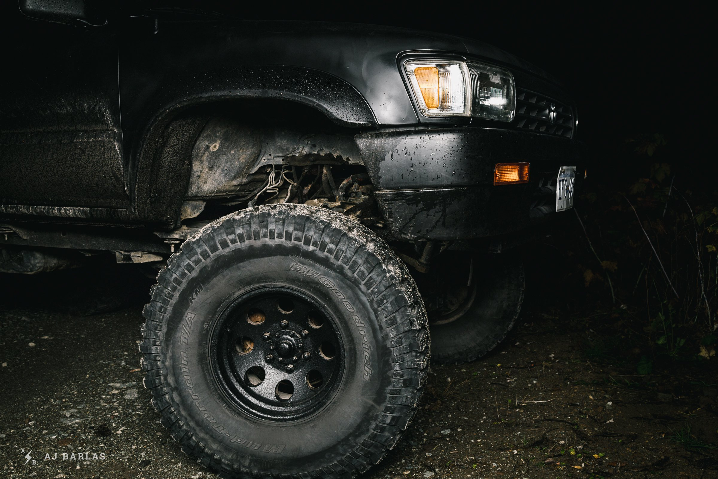 35-inch tires and a lot of room to move on Owen Foster's Toyota 4Runner Zombie