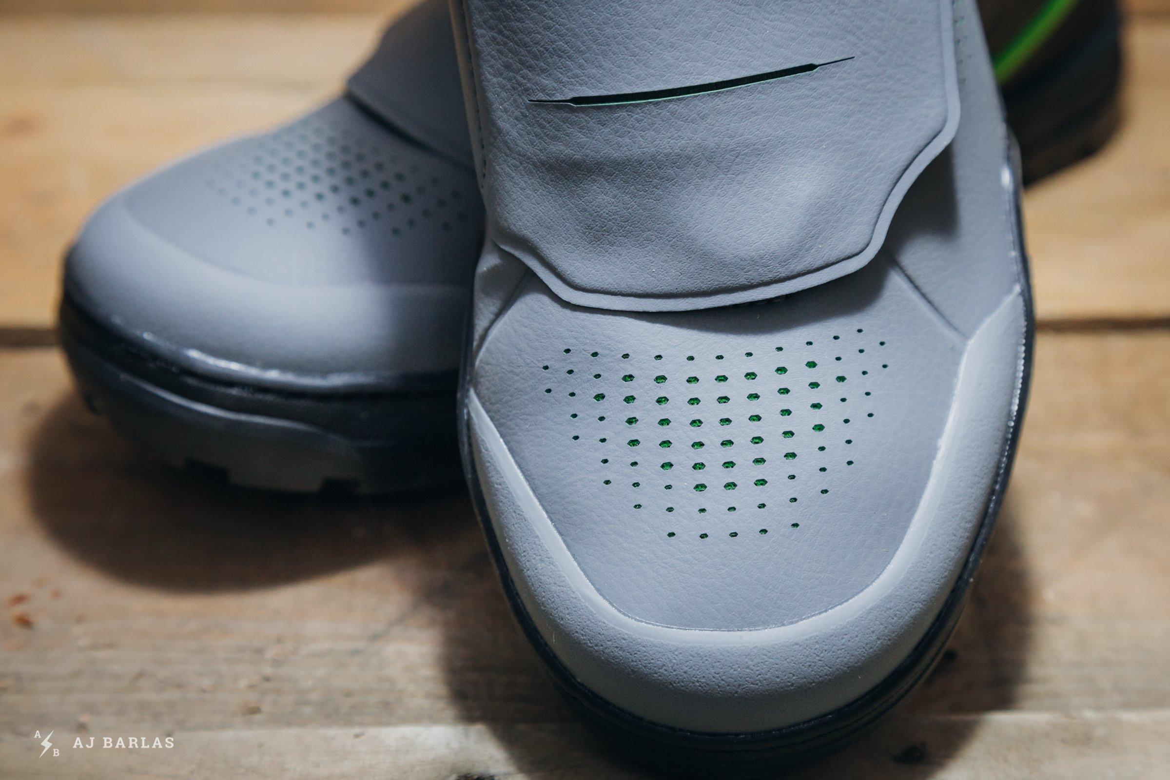 Perforated Toe Box Improves Breathability