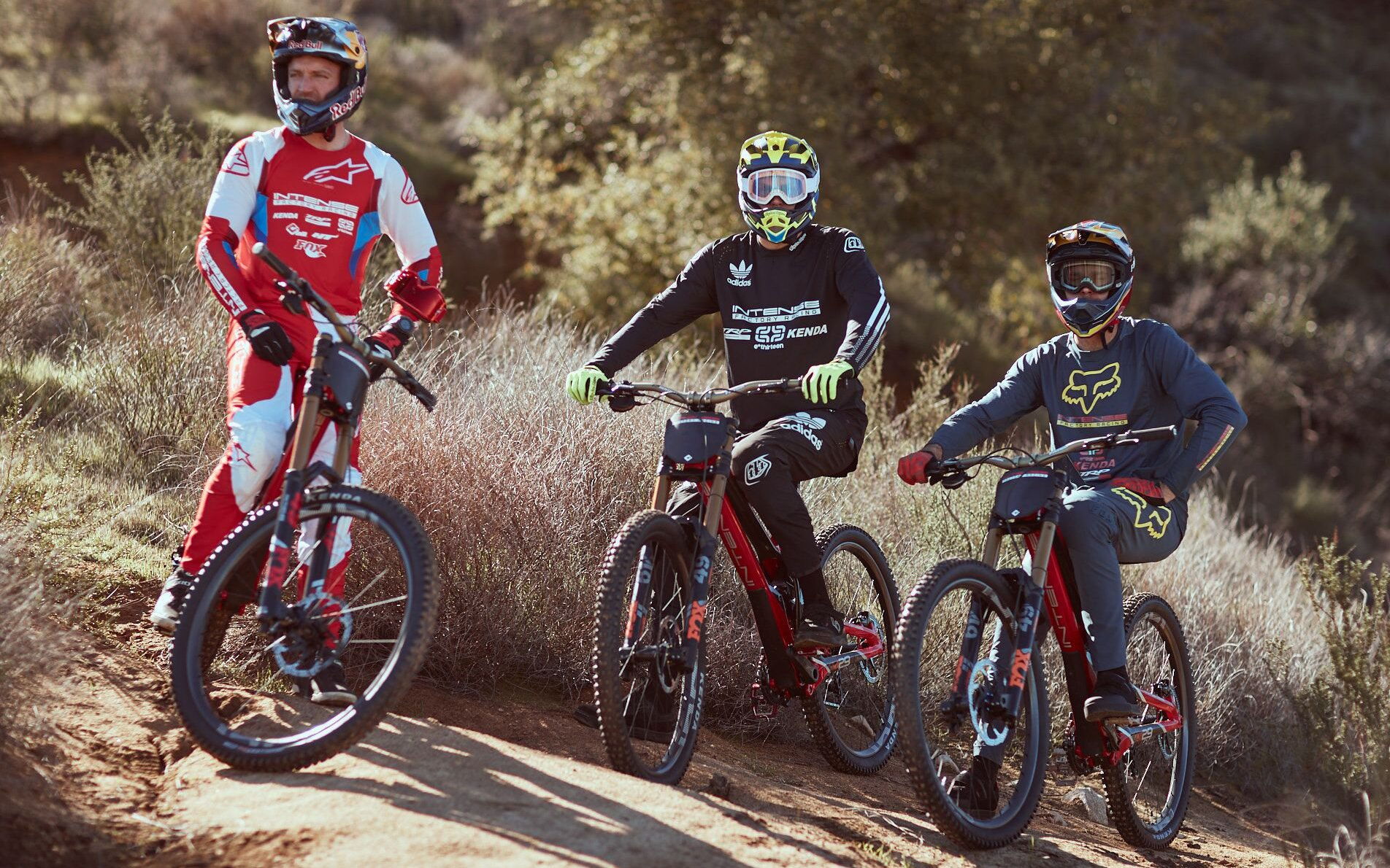 Aaron Gwin and team Intense