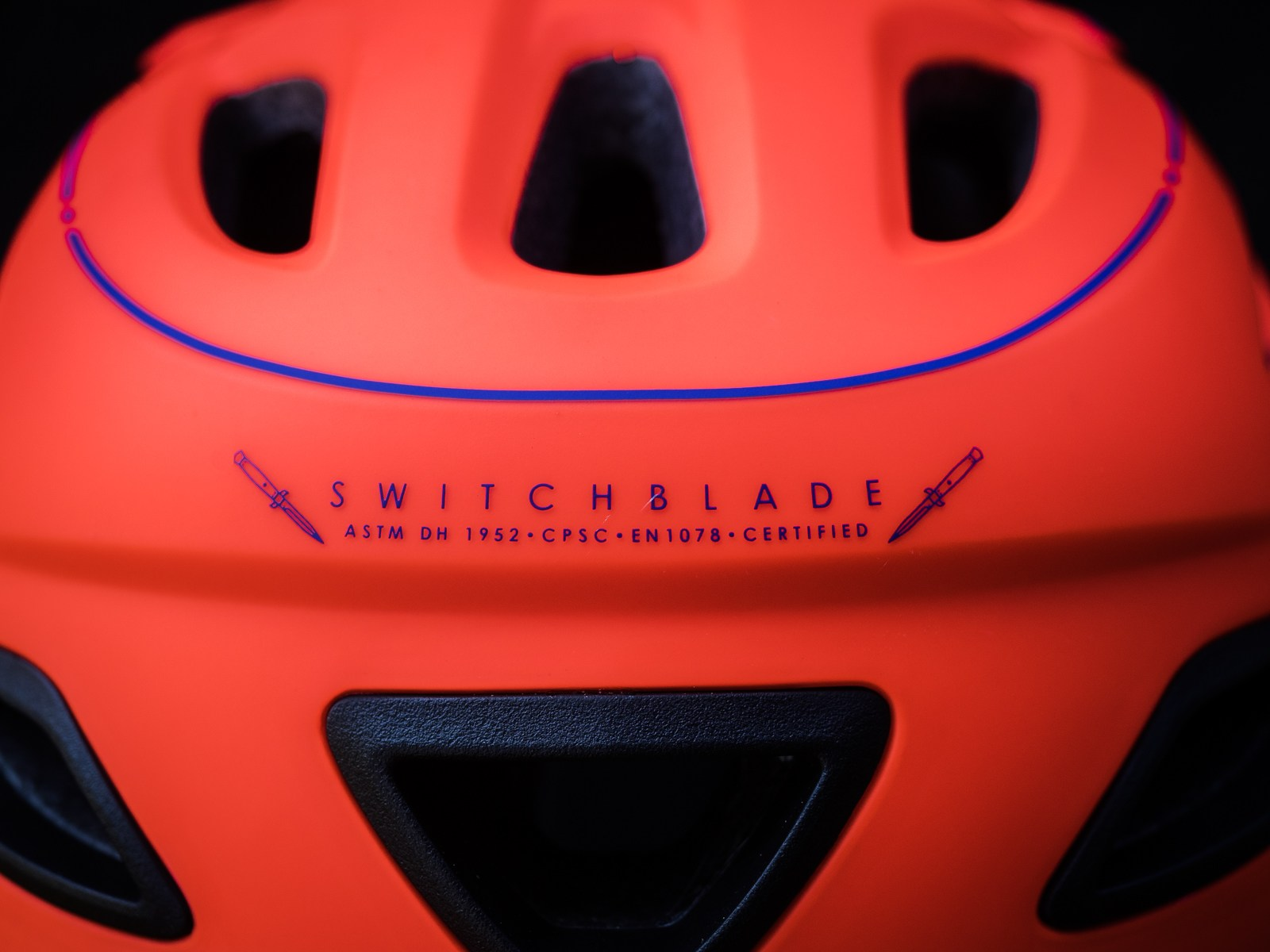 Giro Switchblade - Name plate