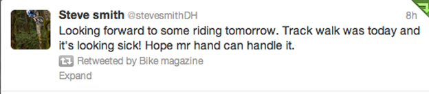 fort william tweets twitter, steve peat, steve smith