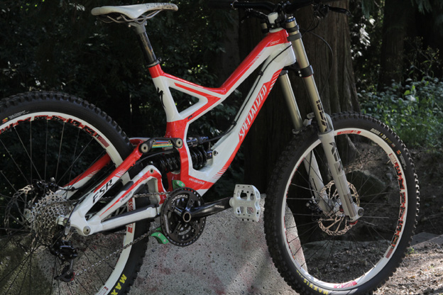 airprentice, specialized demo 8, 2012 demo, rock shox, sram, chromag truvativ, avid, maxxis, dt, dt swiss