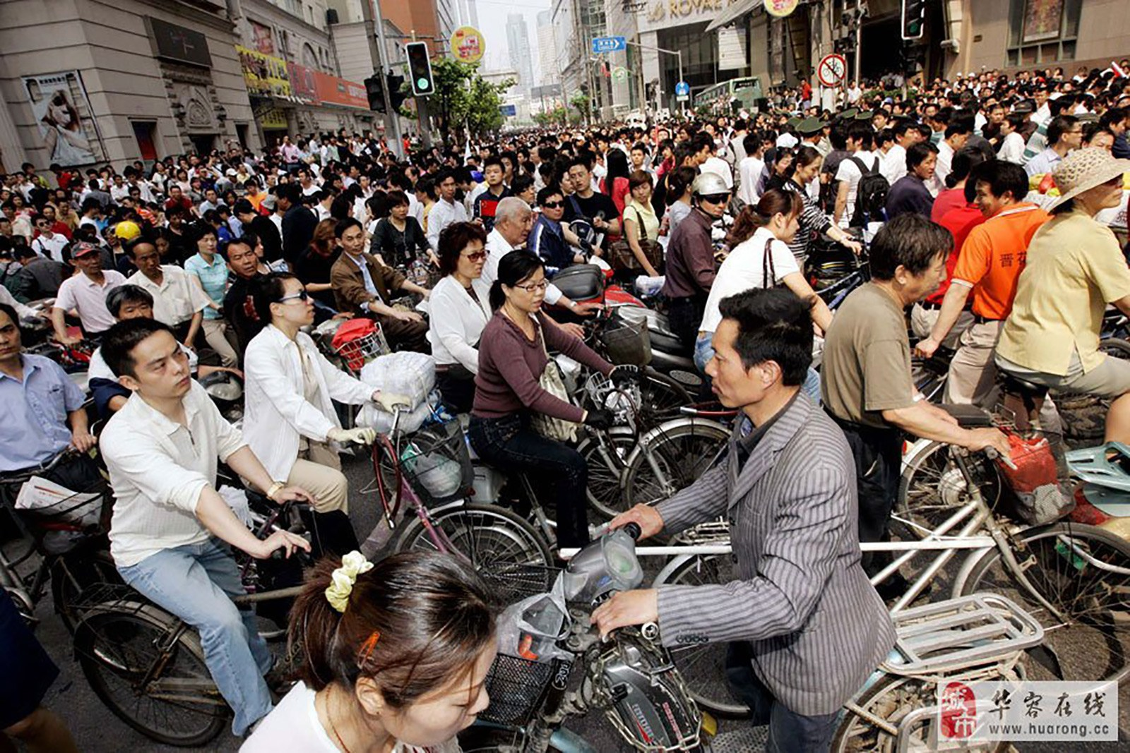 By Uncle Dave's calculations a lot of people ride bicycles in China.