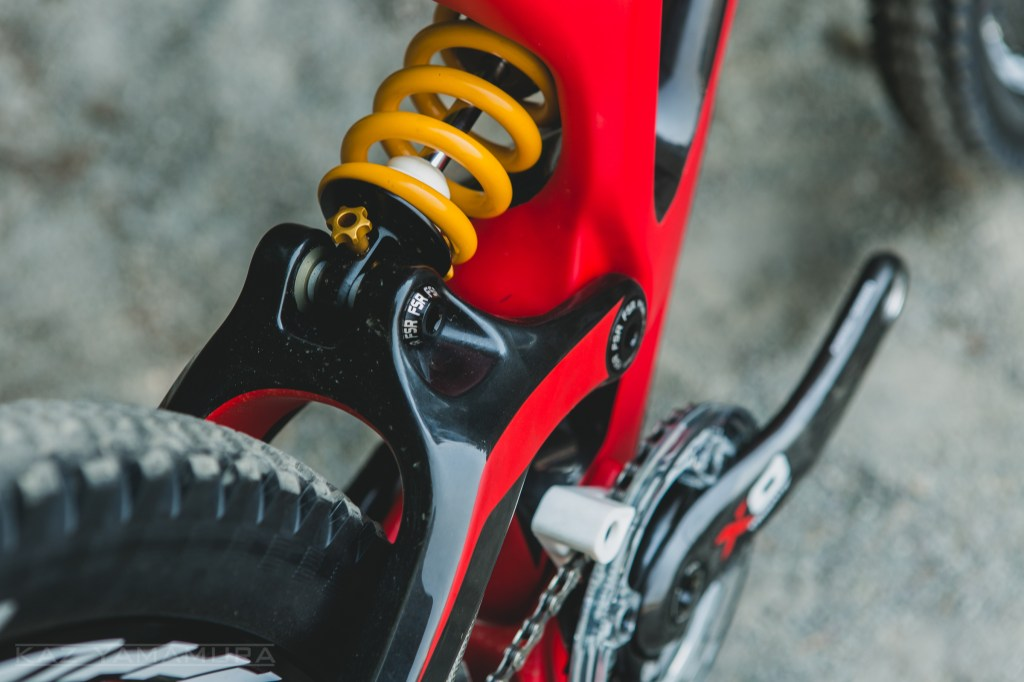 If you don't feel like running the Öhlins shock, Specialized has made it easy to run whatever else you may want to bring to the party.