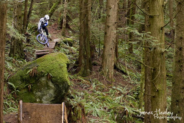 Brian Onofrichuk BC freeride Kranked James Healey mountain bike photography