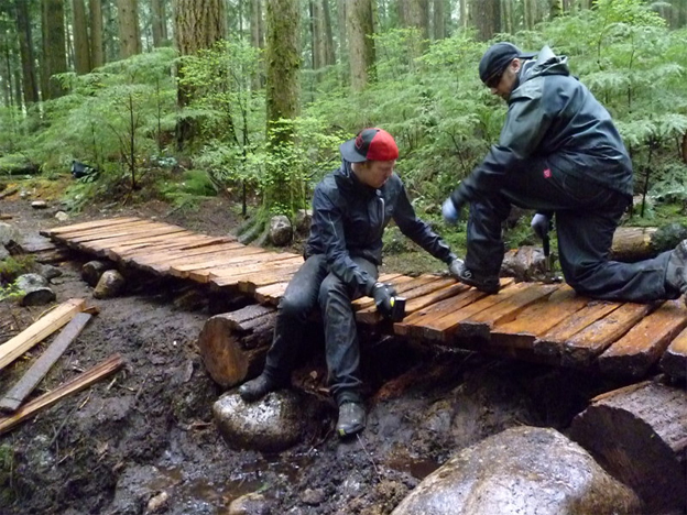 rocky mountain trail day, nsmba, tap, north shore, trail maintenance. Rocky mountain bicycles